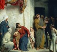 Cristo e i bambini - Bloch